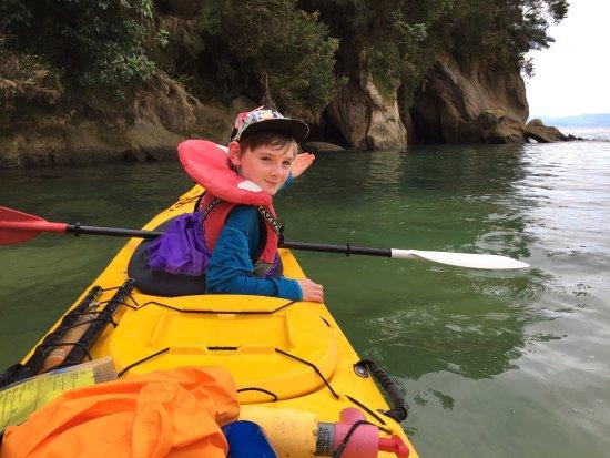 Marahau, Neuseeland: A good day on the water