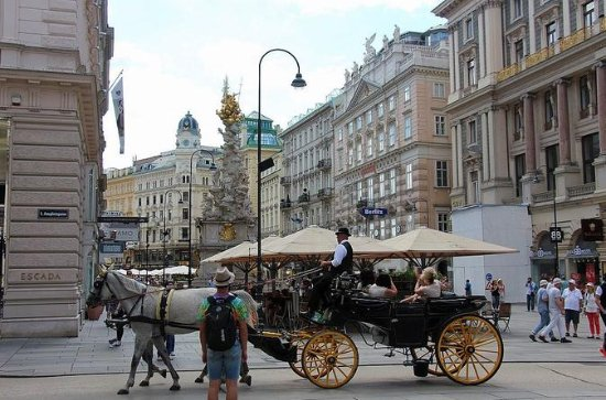 Romantic Vienna from Budapest with...