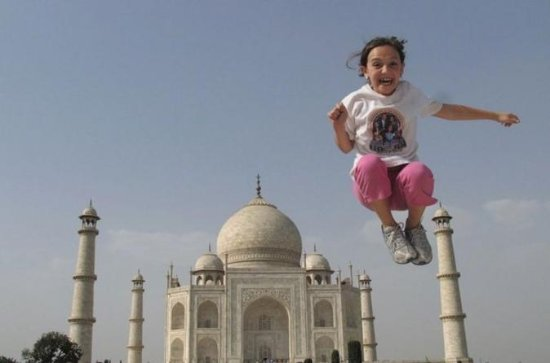 Tour de luxo super do Taj Mahal e Agra...