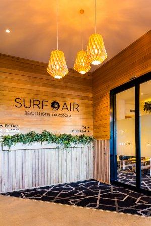Marcoola, أستراليا: Entry foyer to Surfair 