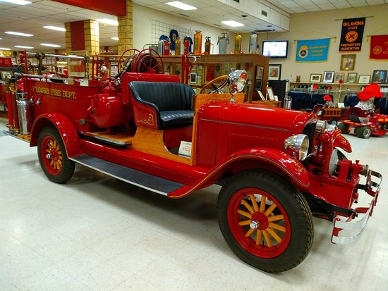 ‪Oklahoma Firefighters Museum‬