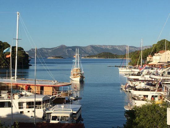 Mljet National Park, Croacia: The view from our balcony