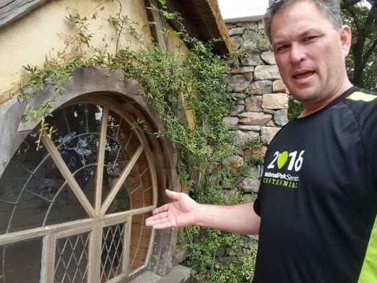 Matamata, Yeni Zelanda: Window of Hobbit House