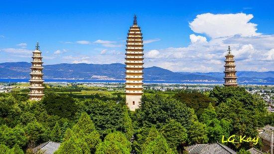 Chongsheng Three Pagodas: Pagoda complex