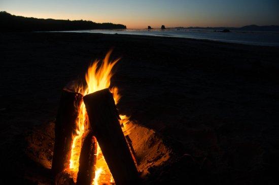 Sekiu, WA: Bullman Beach sunset