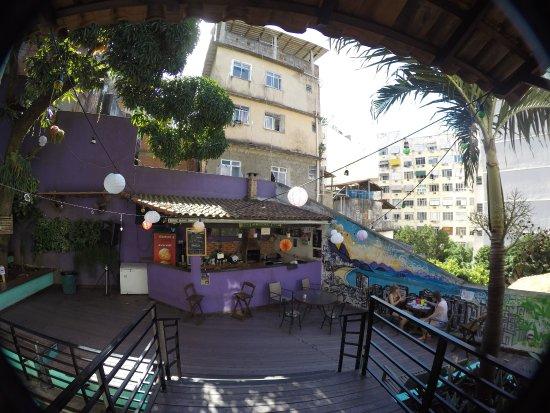 Pura Vida Hostel: Outside Terrace U0026 Bar