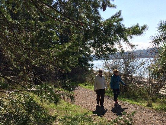Quadra Island, Canada: Enjoying the Sunny Trail
