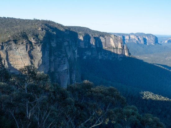 Govetts Leap : Spectacular view over the Grose Valley