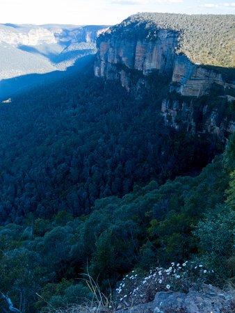Govetts Leap : It's a long, long way down