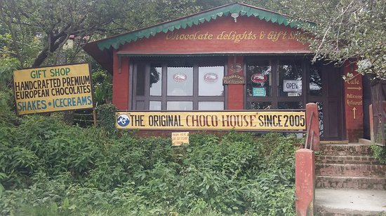 CHOCOLATE AND GIFT SHOP AT MUKTESHWAR