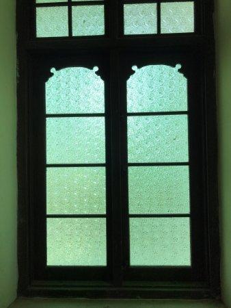 Richmond Castle: window view from inside