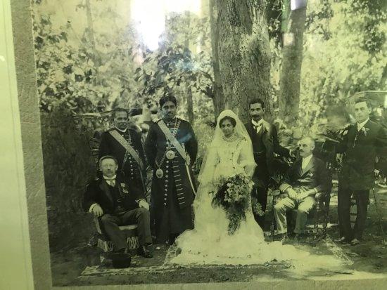 Richmond Castle: Mudaliyar Wijesinghe and wife and VIPs @ Wedding