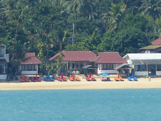 Hacienda Beach Resort: Vue de la mer