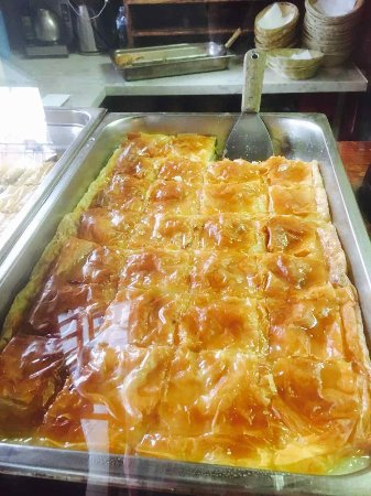Collingwood, ออสเตรเลีย: Galaktoboureko, Greek custard is amazing at Jims