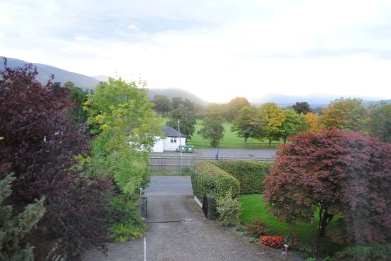 Braithwaite, UK: View from my room 'Skiddaw'