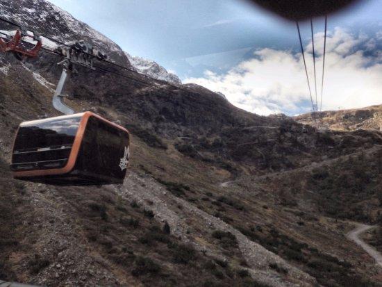 Neustift im Stubaital, Oostenrijk: Nieuwe cabine Stubaitalbahn