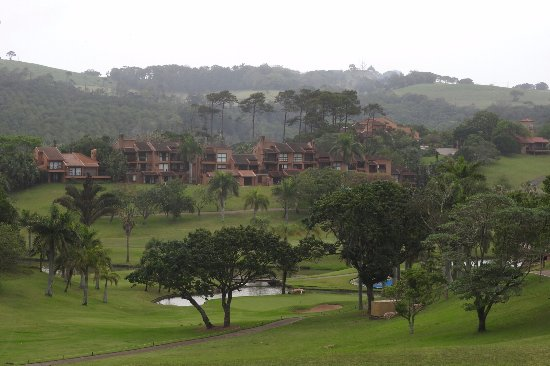 San Lameer Villas: Golf course and villas
