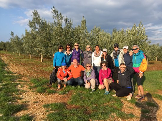 Vodnjan, Croatia: Our group at the goove