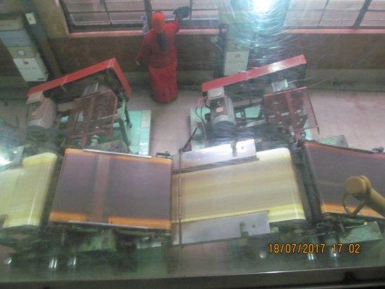 Dodabetta Tea Museum and Factory: Tea processing machine