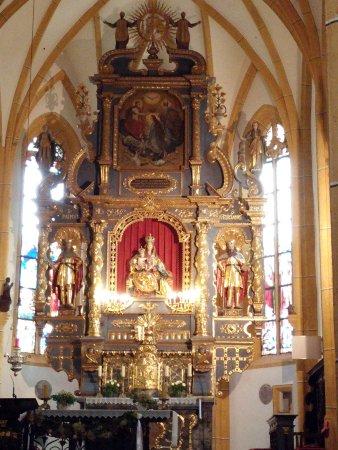 Wallfahrtskirche Maria Worth: Der Altar