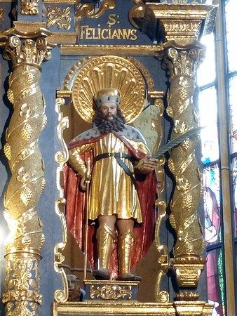 Wallfahrtskirche Maria Worth: Ausschnitt am Altar