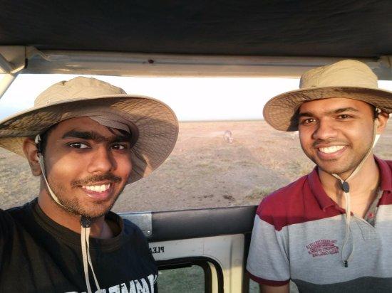 Amboseli National Park, Kenia: Enjoying the safari