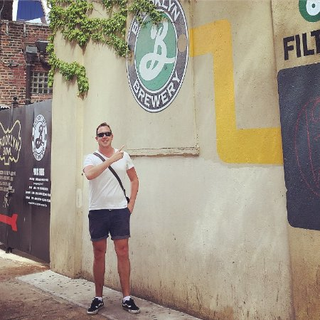 Brooklyn Brewery: Outside the brewery