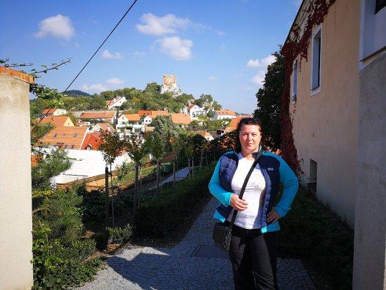 Kozi Hradek - Mikulov: to je on v pozadí