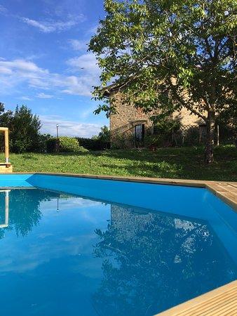 Vicchio, Italia: Vista dalla piscina