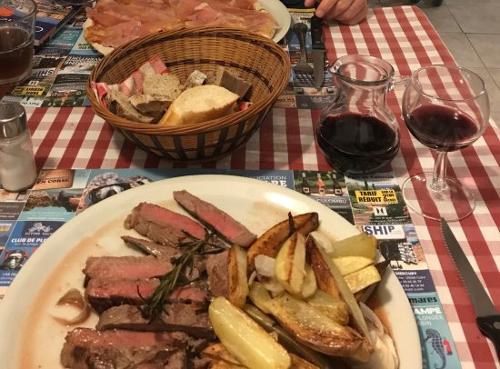 Calenzana, France: Seeing is eating 😋