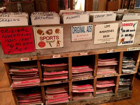 Ashland, NH: memorabilia to purchase