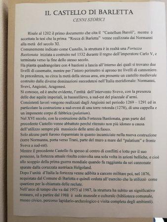 Castello Svevo di Barletta: Storia