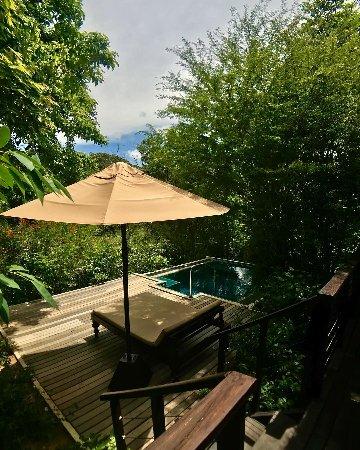 Uga Ulagalla: The plunge pool at villa 7.