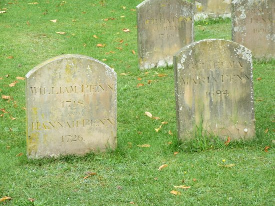 Chalfont St. Giles, UK: Penn graves