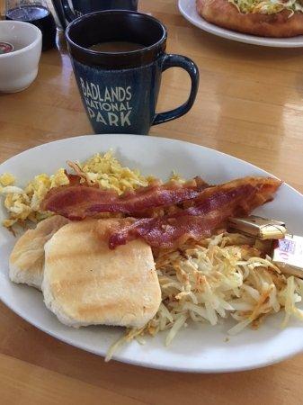 Cedar Pass Lodge : Breakfast Sandwich