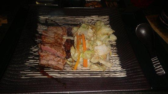 Terre Rouge: Mizu set menu