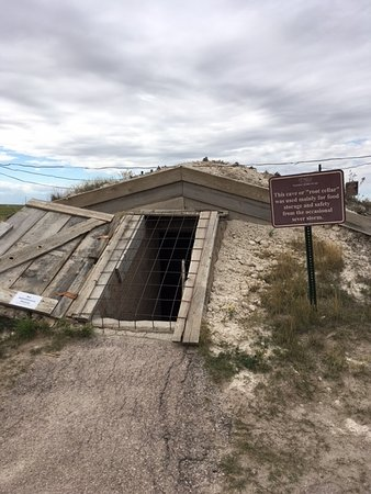 Philip, SD: The Root Cellar, Safety From Mother Nature