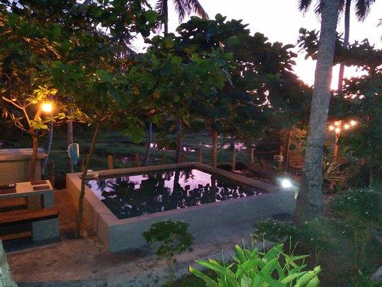 Satta Beach Residence: Pool,  night light