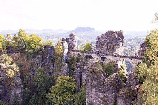 Krasna Lipa, Tjekkiet: Bastei Bridge