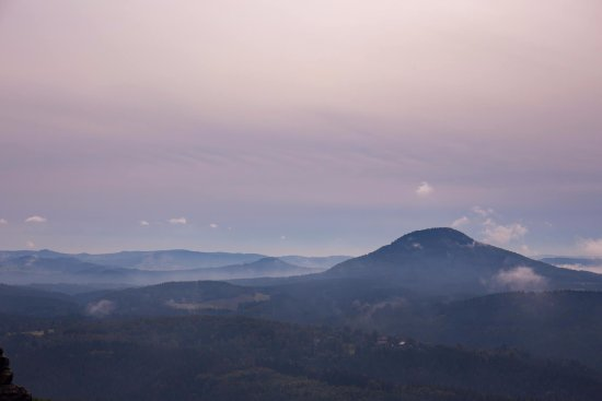 Krasna Lipa, Tjekkiet: Gorgeous mountain views!