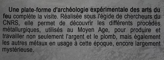 Mines d'Argent des Rois Francs : Le dépliant 2017 pour avoir une idée de cette attraction