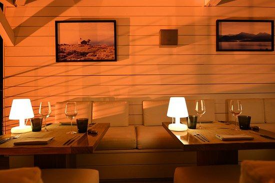 Oletta, Франция: Restaurant Terrasse