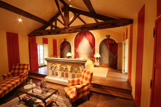 Fontenay-le-Comte, Francia: Suite Rabelais pouvant accueillir 5p