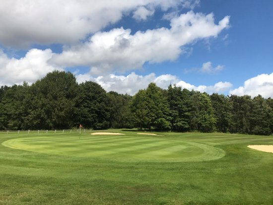 Crawley, UK: View from the 18th green