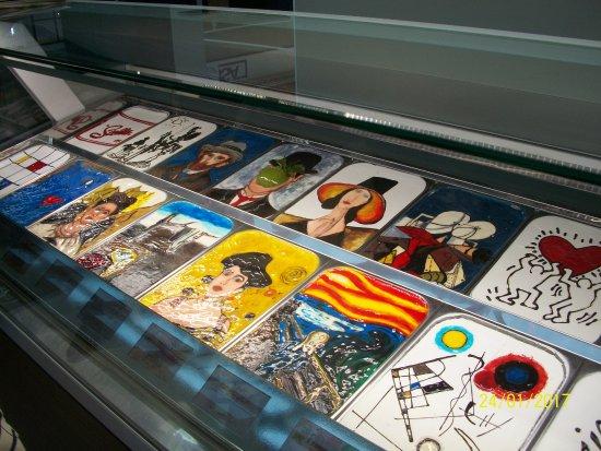 RiminiFiera Stand Fiera di Rimini (Torte con immagini di quadri famosi)