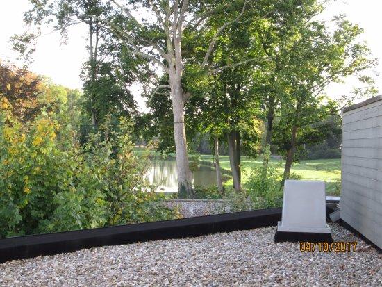 Elverdinge, Belgium: view from opur bedroom