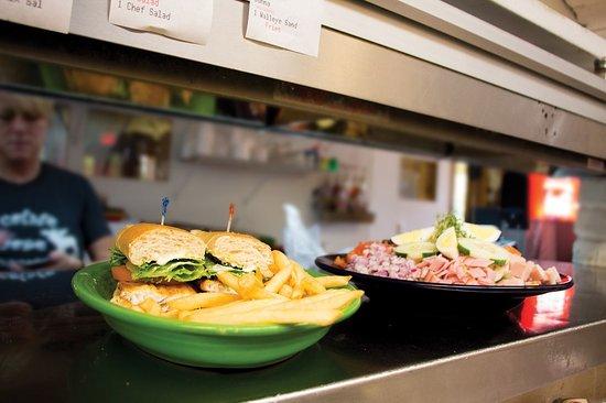 International Falls, MN: Chocolate Moose Restaurant - Fish Sandwich