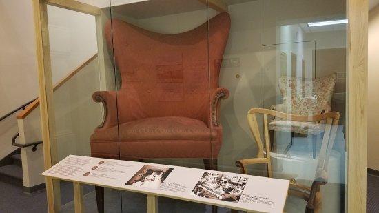 High Point, NC: Furniture exhibit