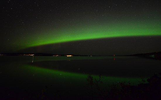 Porjus, Suecia: Northern Light on September 2017