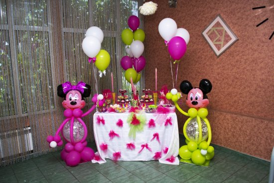 Mineralnye Vody, Rusland: Яркий детский праздник в кафе
